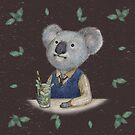 Koala_dark by hahaha-creative
