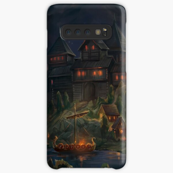 Medieval Fortress at Nighttime Samsung Galaxy Snap Case