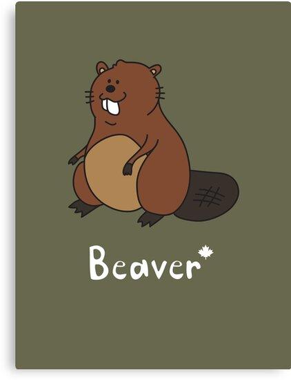 B for Beaver by Gillian J.