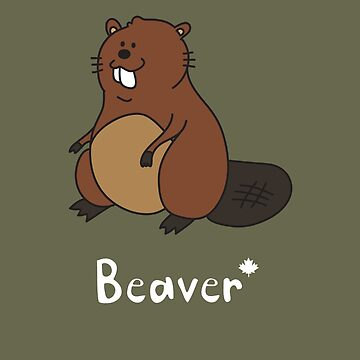 B for Beaver by gillianjaplit
