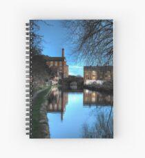 Canal at Dusk Spiral Notebook