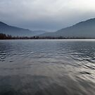 Winter Afternoon on Lake Tegern by Kasia-D