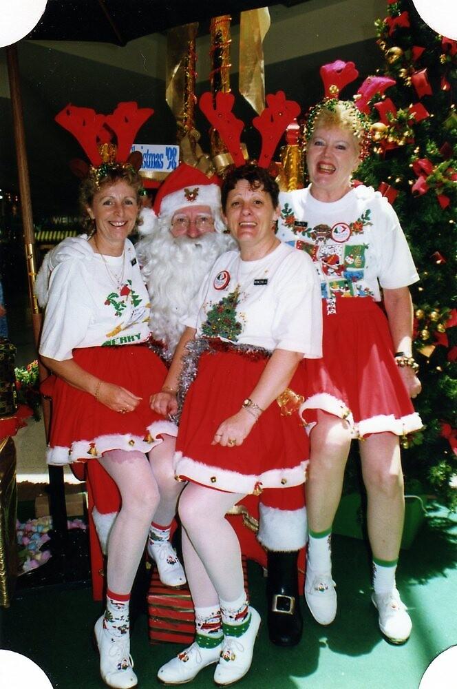 Sitting on Santa's Knee by Lozzie5243
