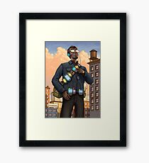 The Gadgeteer Framed Print