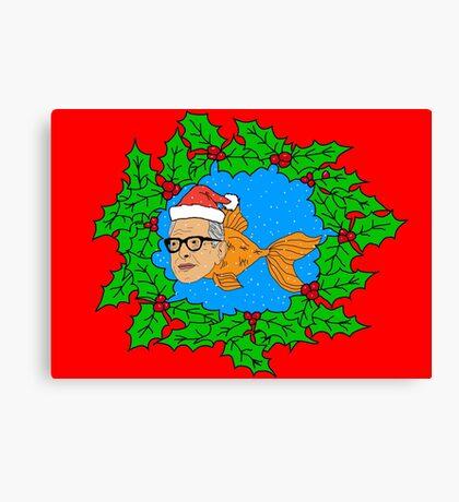 Festive Jeff Goldfish Canvas Print