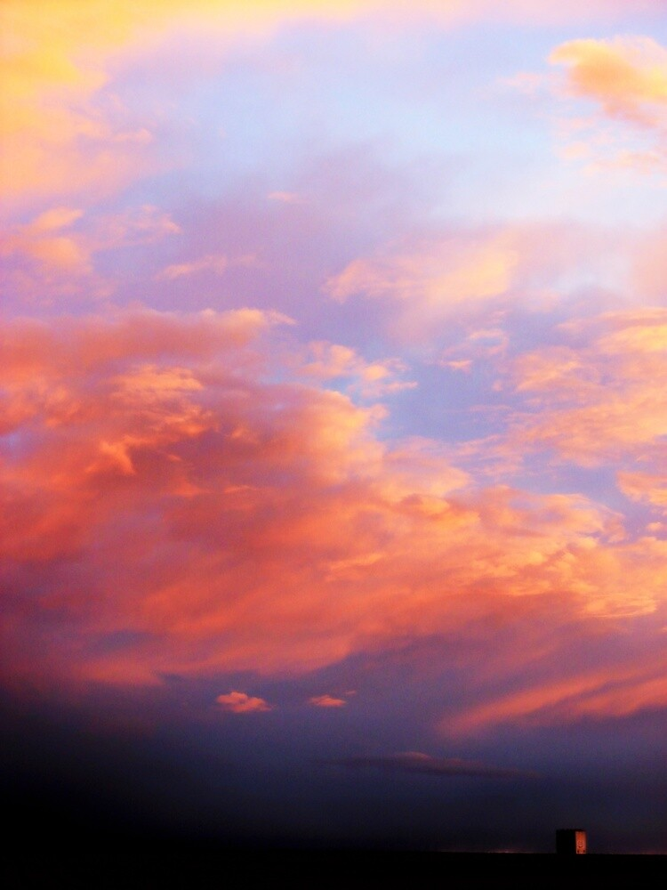 Storm a Brewin - Skyscape Collection - Montana by Monica DeShaw