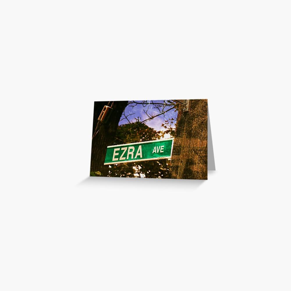 Ezra  Greeting Card
