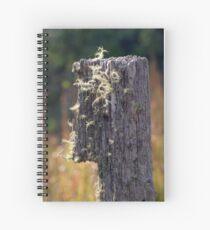Abandoned Fencepost Spiral Notebook