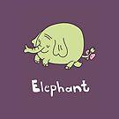 E for Elephant by Gillian J.