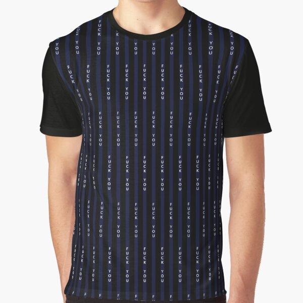 Conor Mcgregor Suit F ** k You T-shirt graphique