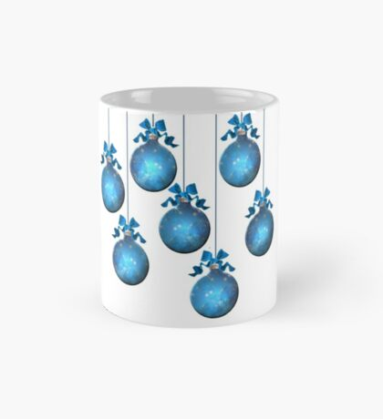 Blue Ornaments #2 Mug