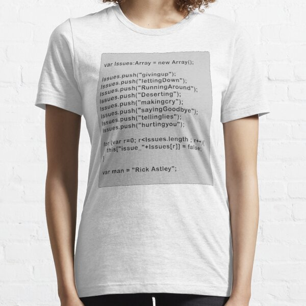 Never Give Up Code Essential T-Shirt