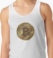 Bitcoin T-Shirt  Geschenk Krypto Internetgeld  Tanktop Unisex