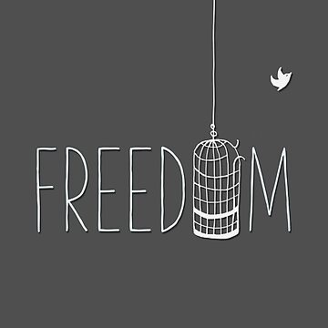 Freedom by bubbliciousart