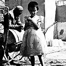 Uyghur Skipping Girl by Nick Humphreys