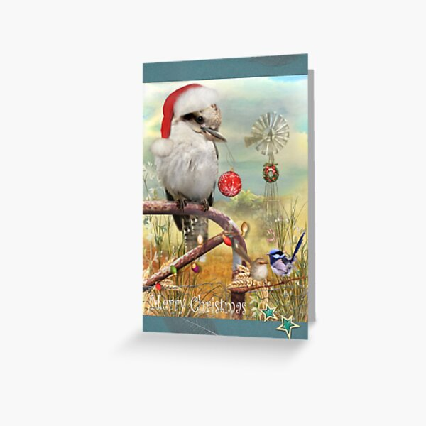 The Christmas Meeting Place Greeting Card