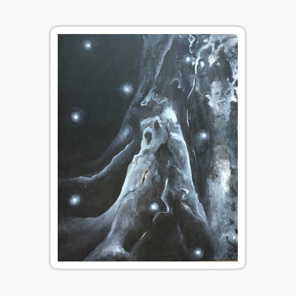 Night Forest Sticker