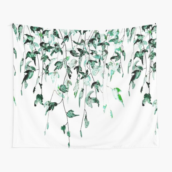 leaf pattern Tapestry