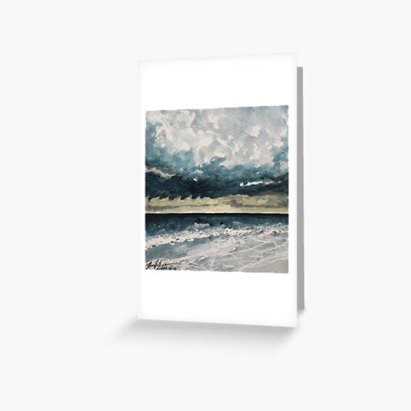Dark Seas Greeting Card