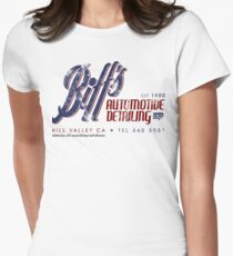 Biff's Auto Detailing Women's Fitted T-Shirt