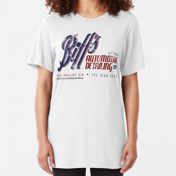 Biffs Autodetaillierung Slim Fit T-Shirt