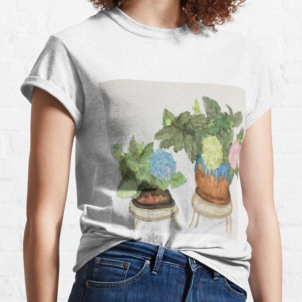 Potted Hydrangeas Classic T-Shirt
