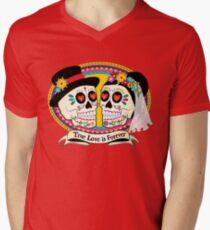 Los Novios (English) Men's V-Neck T-Shirt