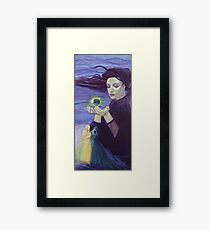 "Soulmates - from ""Impossible love"" series Framed Print"