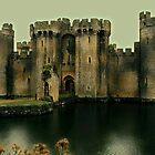 Bodiam Castle - my interpretation by hans peðer alfreð olsen