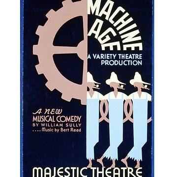 MACHINE AGE 1930s playbill by deborahsmith
