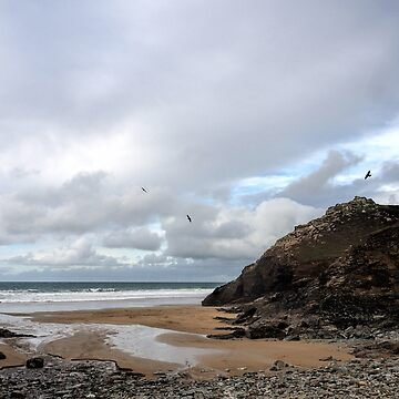 Chapel Porth Beach. Cornwall UK by lynn45