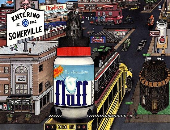 Ein seltsamer Tag in Somerville von Richie Montgomery