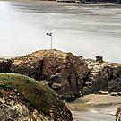 Chapel Rock Perranporth Cornwall by lynn carter
