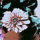 Vintage Blume von RanitasArt
