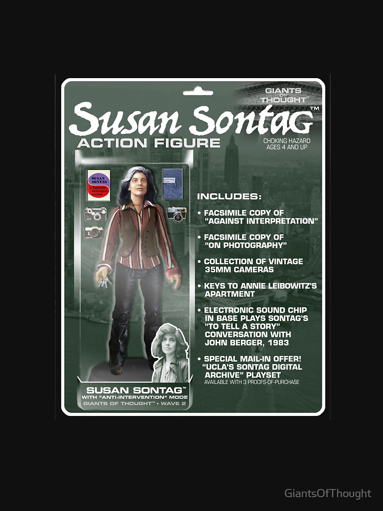 Susan Sontag Action Figure by GiantsOfThought