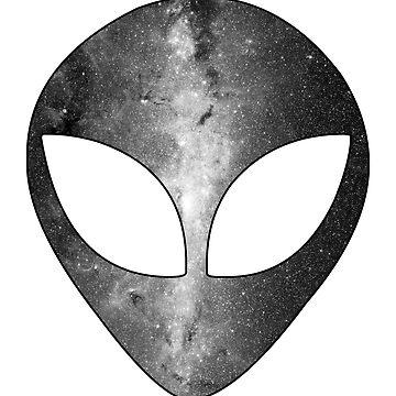 ALIEN GALAXY 1 (black) by eileendiaries