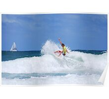 Ripping the Surf - Narraneck - Gold Coast Poster