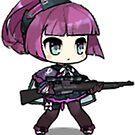 Girls' Frontline - Carcano M91/38 by VinoBurrito