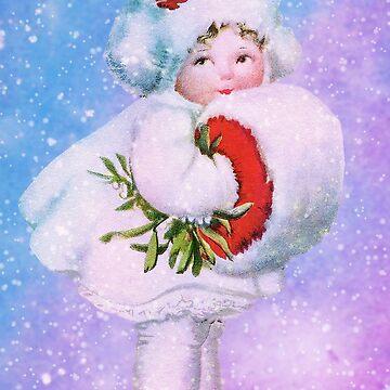 HER WARM SNOW MUFF by Tammera