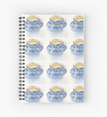 Japanese Teacup Spiral Notebook