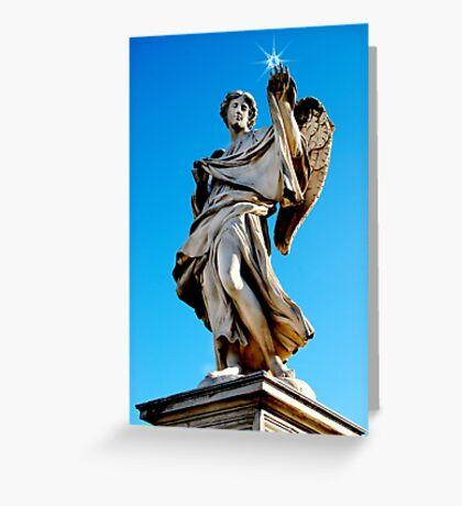 Roman Angel #4 Greeting Card