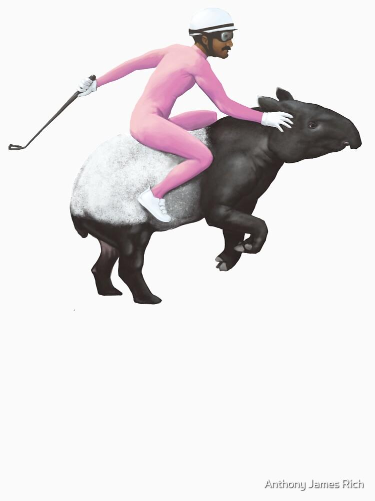 Turbo Tapir | Digital Illustration by AJRart