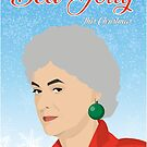 Golden Girls Bea Joyful Christmas by gregs-celeb-art