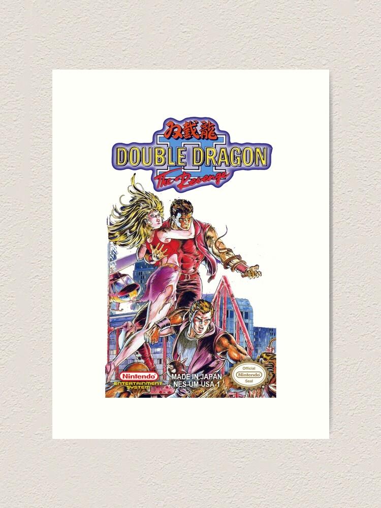 Double Dragon Ii Nintendo Japan Art Print By Icepatrol Redbubble