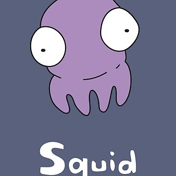S for Squid by gillianjaplit