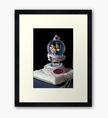 Happy Ever After Micky & Mini Framed Print