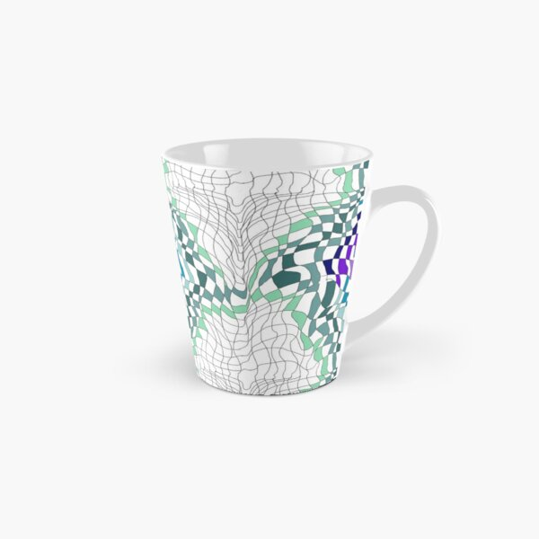 Partial Squigglet by Hypersphere Tall Mug