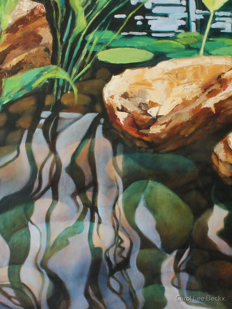 Pond Reflections by Carol-Lee-Beckx