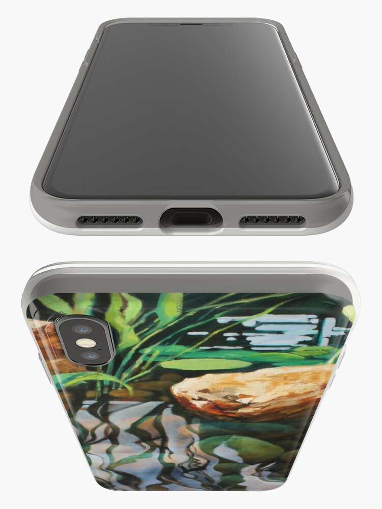 Alternate view of Pond Reflections iPhone Case & Cover