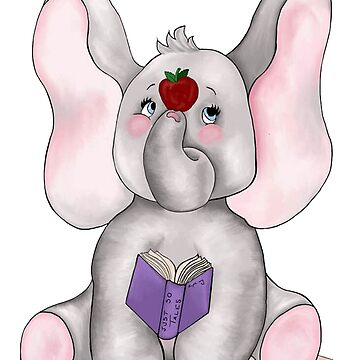 School Memories Elephant by redqueenself